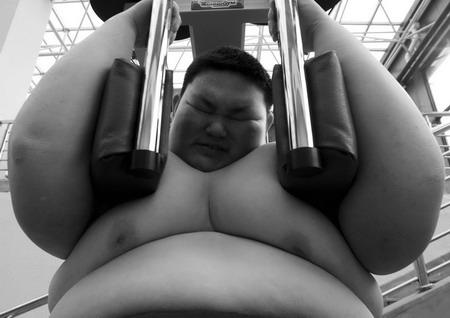 фото жирных теток голых